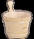 Seau en bois pour saunas